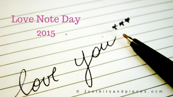 Love Note Day 2015