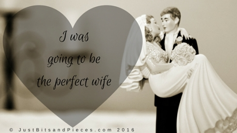 I was going to be the perfect wife