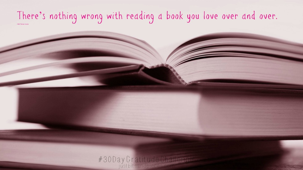 There's nothing wrong with reading a book you love over and over
