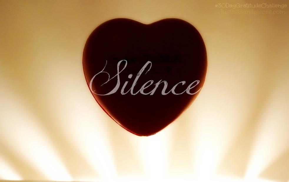 Silence is Golden